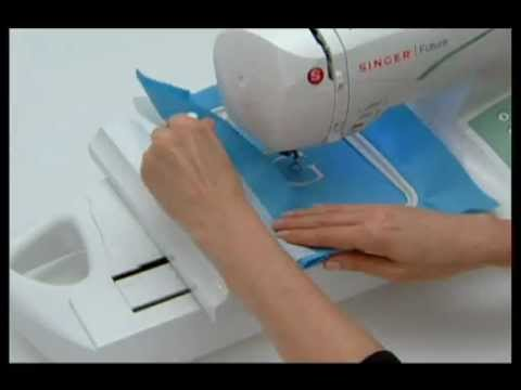 SINGER FUTURA™ Preparing To Embroider Tutorial YouTube New Singer Futura Ses1000 Embroidery Sewing Machine