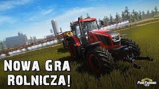 NOWA GRA ROLNICZA ! Pierwsze Wrażenia Żniwa w USA  [Demo] Pure Farming 2018 #1