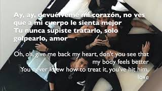 Cnco Devuelveme mi corazon LETRA LYRICS with ENGLISH TRANSLATION.mp3