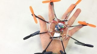 Space Rapture - Micro Octocopter