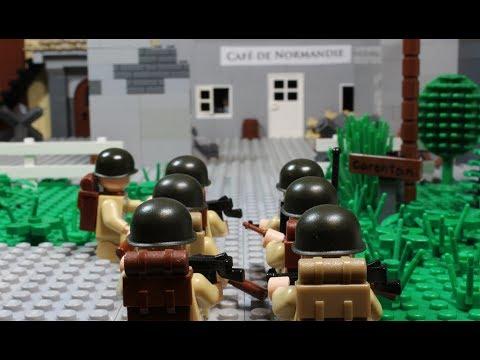 Lego WW2 - Battle of Carentan