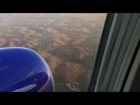 Landing at Eppley Airfield, Omaha, Nebraska