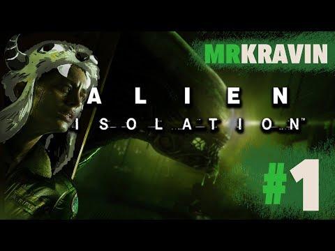 ALIEN: ISOLATION (Hard Mode) [1] - HORROR MOVIES + FURRIES