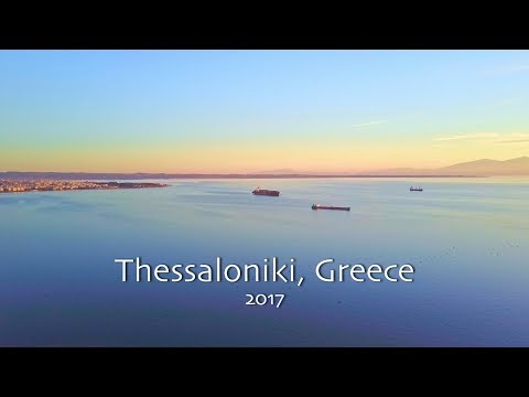 Thessaloniki Greece Drone Flying - Travel Video by DGisHERE