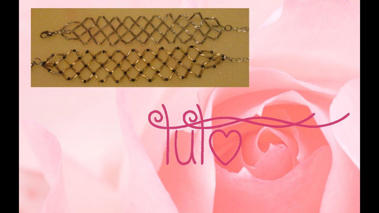 tuto bracelet en perles multi rangs mod le n 1 youtube. Black Bedroom Furniture Sets. Home Design Ideas