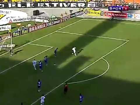 Melhores Momentos - Santos 2 x 1 Rio Claro - Paulista 2010