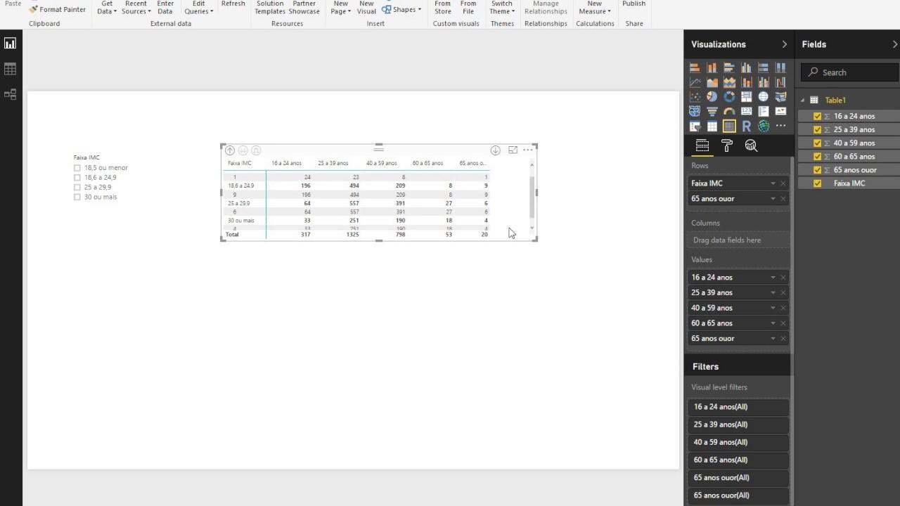 New Matrix Visual Auto-resizing even with option o