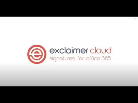 Exclaimer Cloud - Email Signatures for Microsoft 365 (formerly Office 365)