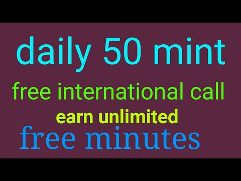How to get free call credit International anywhere world 2017