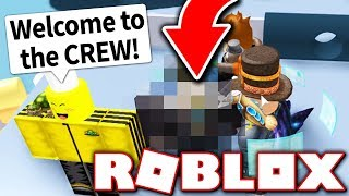 THE NEWEST MEMBER OF THE CREW?! (Roblox)