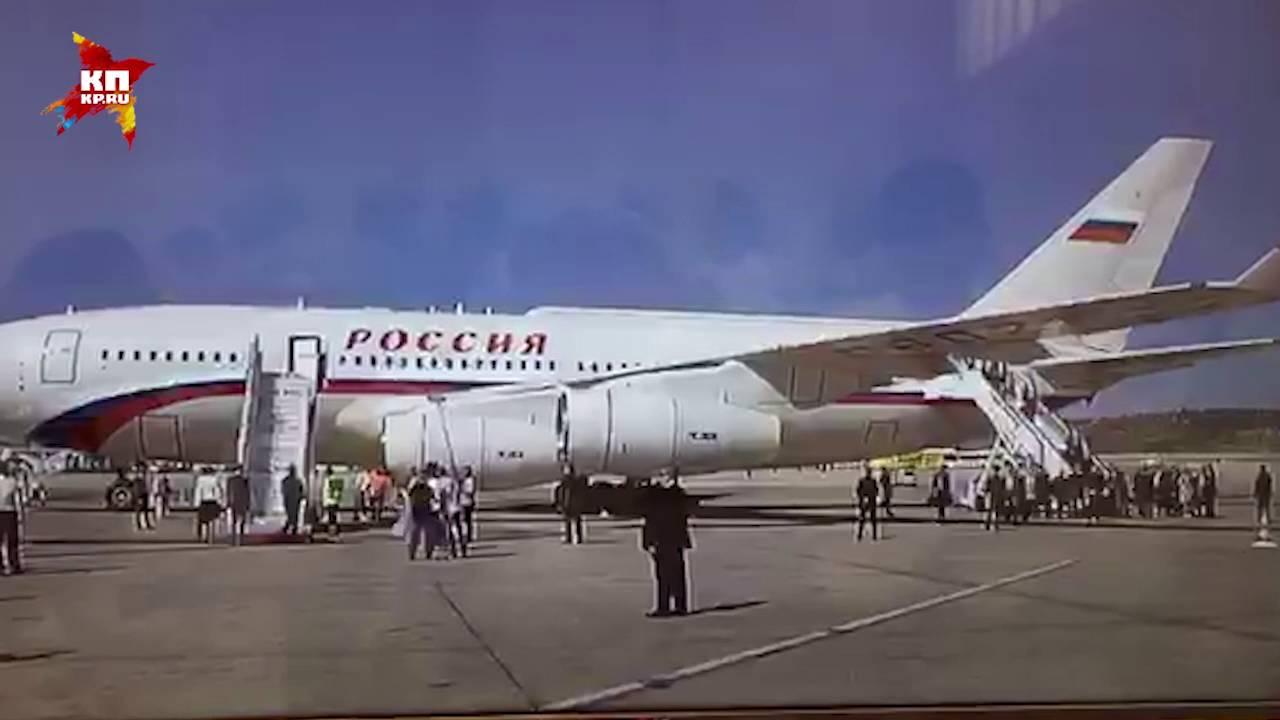 Владимир Путин прилетел в Грецию с двухдневным визитом
