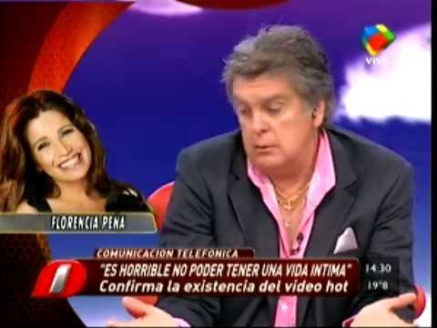 df596634f716 Exitoina   Florencia Peña reconoció que tiene un video