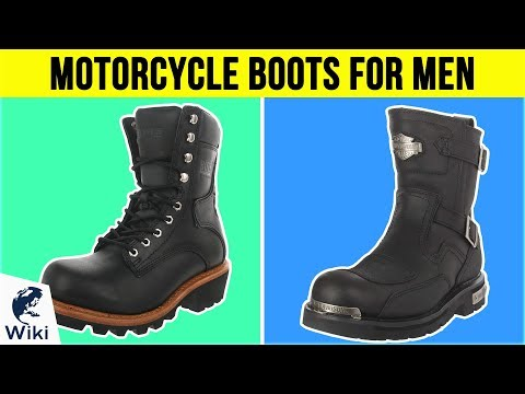 10 Best Motorcycle Boots For Men 2019