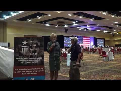 Watch Carolyn DeKok Secretary of  the Board of thehomefrontcares.org