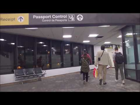 MIA Concourse E International Arrival - Walking To The North Terminal Immigration Hall