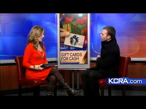Trading in unused gift cards for cash