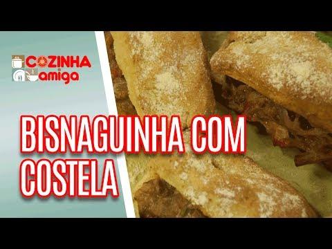 Bisnaguinha de Milho Recheada com Costela - Gabriel Barone | Cozinha Amiga (10/07/18)
