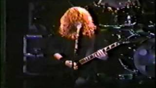 MEGADETH THE DISINTEGRATORS *LIVE VIDEO* 1998