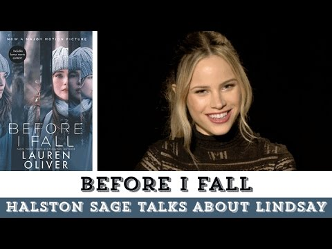 Halston Sage Talks About Before I Fall & Her Character Lindsay