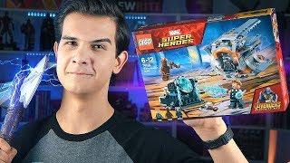 LEGO Война Бесконечности - СОЗДАЁМ ТОПОР ТОРА (76102)