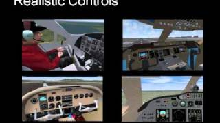 Learn flying with Flight Simulator Games