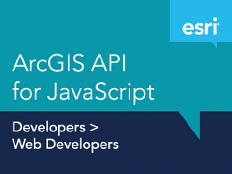 Getting Started with the ArcGIS API for JavaScript