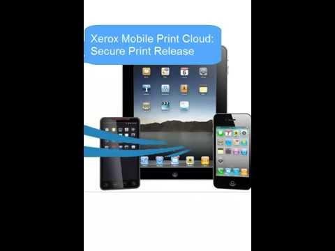 Xerox Mobile Print: Secure Print / Release