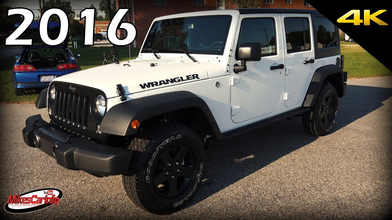 2016 Jeep Wrangler Unlimited Black Bear Edition Ultimate In Depth Look 4k You