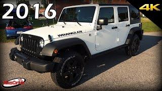 2016 Jeep Wrangler Unlimited Black Bear Edition - Ultimate In-Depth Look in 4K