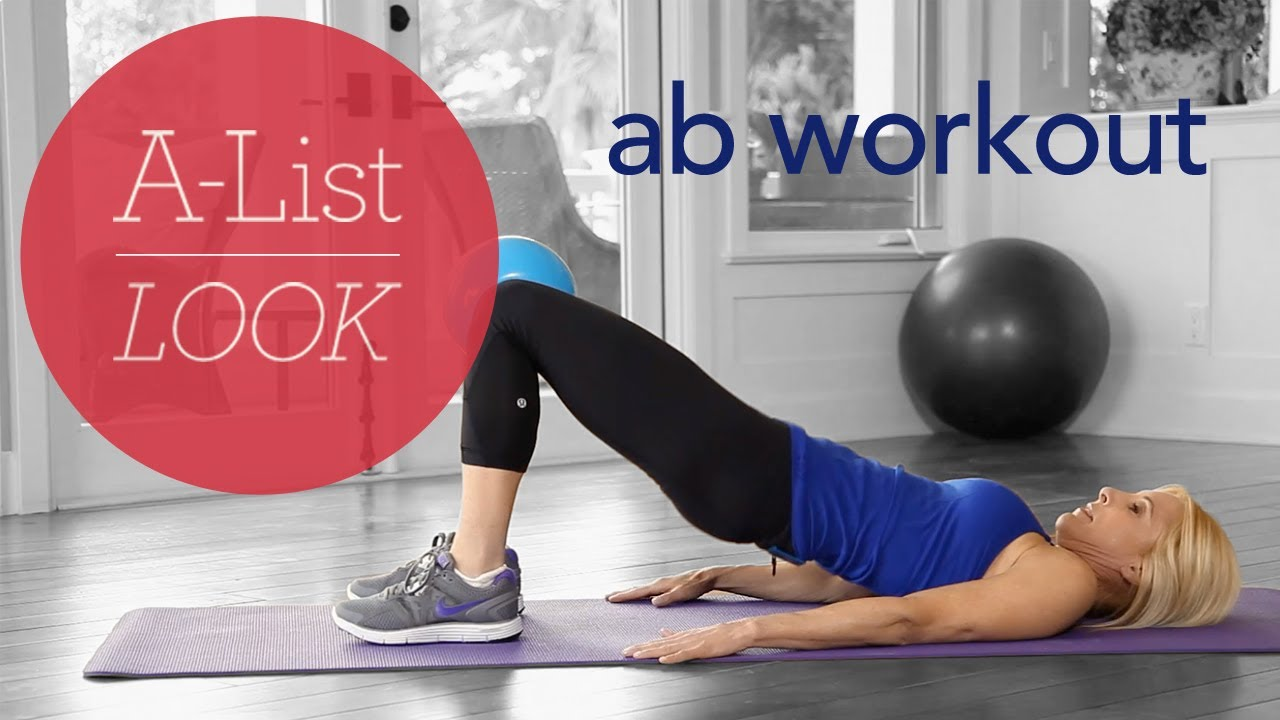 Superstar Abs Workout A List Look With Valerie Waters Youtube