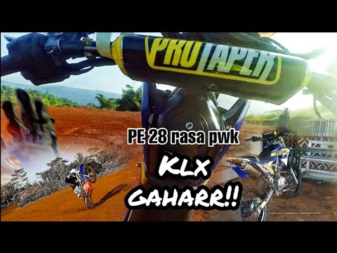 Test Ride Klx bore up....Spek ADVENTURE - YouTube