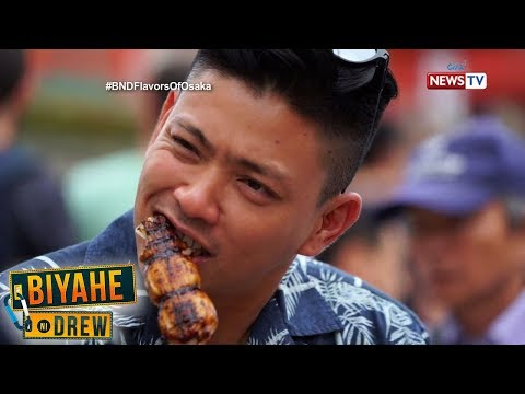 Biyahe ni Drew: Flavors of Osaka (full episode)