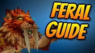 Feral Druid PvE Guide 8.0.1 | Talents & Rotation & Stats | World of Warcraft Battle for Azeroth