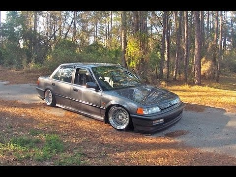 STANCE: Clean and Low 1990 Civic Sedan