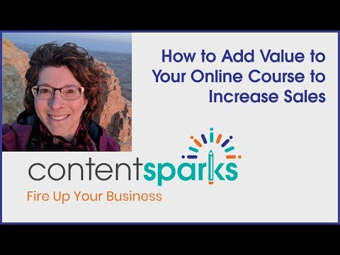 How to Add Value to Online Courses to Increase Sales