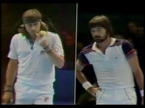 Borg vs Connors SF Masters 1980  Set1