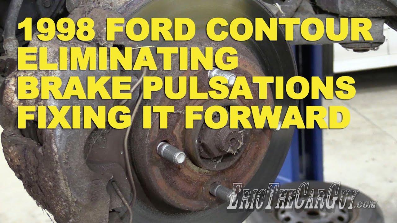 1998 Ford Contour Eliminating Brake Pulsations Fixing It Forward 2000 Engine Diagram Youtube