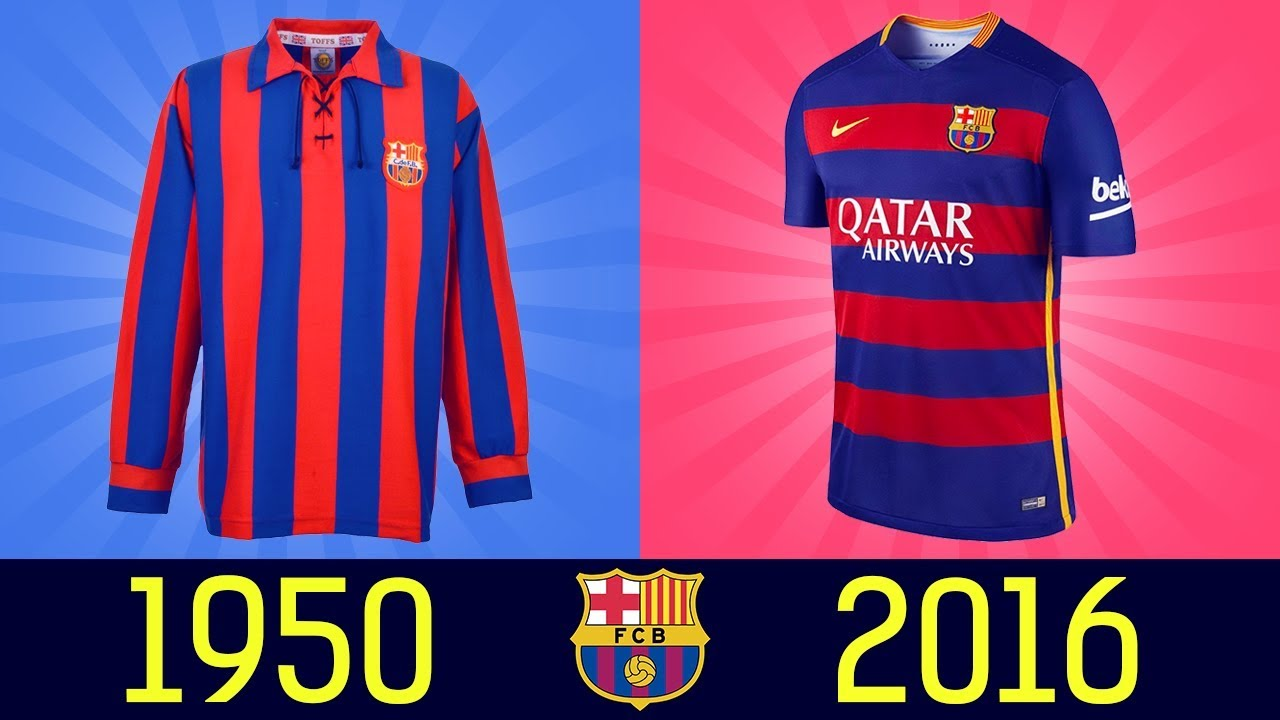 aebf7ecf8 All FC Barcelona Football Kits in History