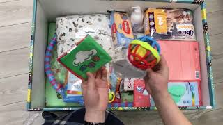 Обзор, распаковка самый новый БЕБИ БОКС  2020 ДНЕПР  Baby box бэби бокс