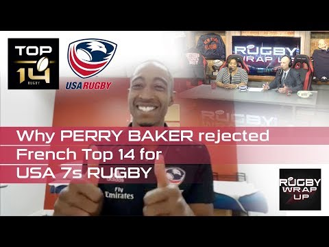 Perry Baker: Getting To Know World Rugby's 7s Player of the