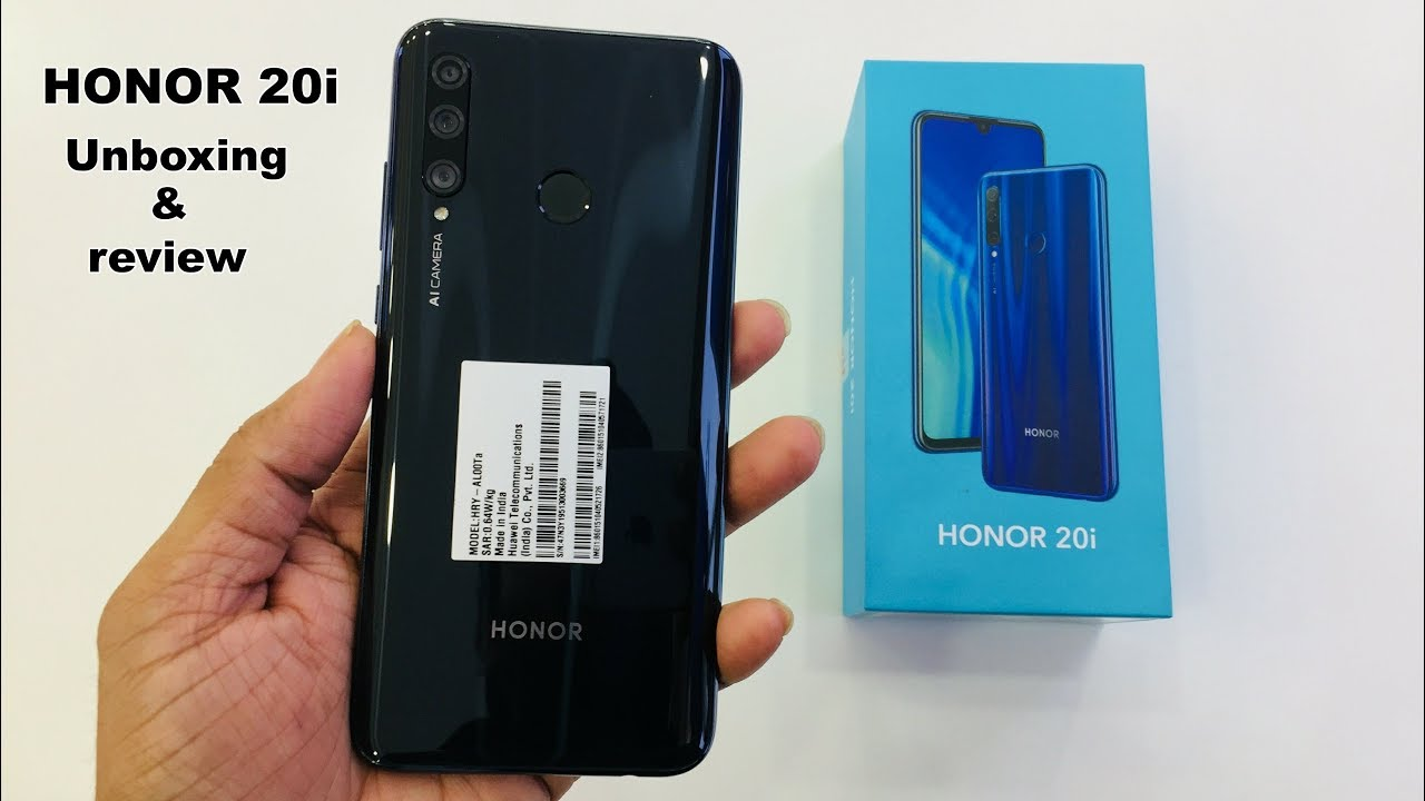 Huawei Honor 20i - Full Specification, price, review