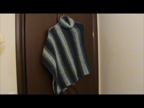 6cef6bd9b986 Πλεκτό πόντσο ζιβάγκο - YouTube
