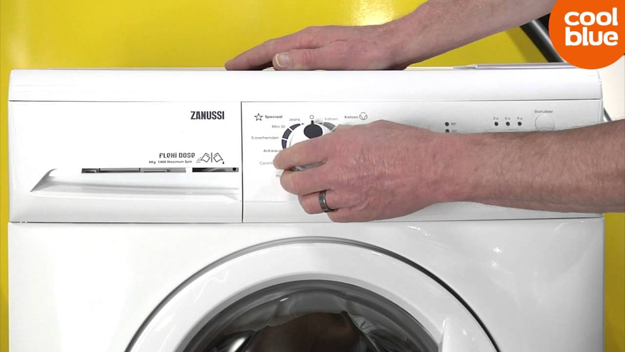 Zanussi Wasmachine Zwf5140p Zanussi Zwg 6140p Videoreview En Unboxing Nl Be