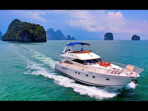 BEST Luxury Yacht Charters in Phuket Thailand HD with Freedom Divers