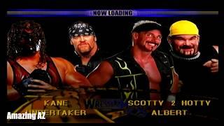 WWE Wrestlemania X8 -  Path of Champions Playthrough WWE Tag Team Championship (Undertaker & Kane)