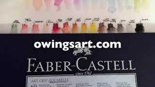 Faber-Castell Art Grip Aquarelle Pencils