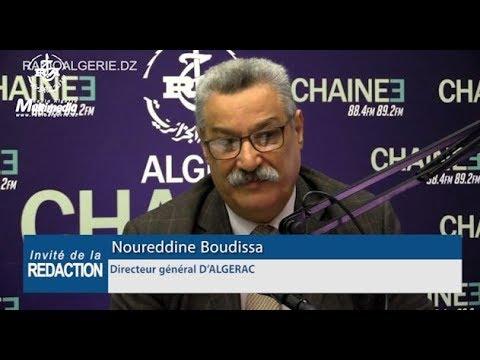 Noureddine Boudissa Directeur général D'ALGERAC