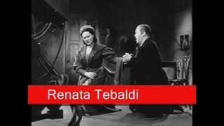 Renata Tebaldi: Puccini - La Bohème,