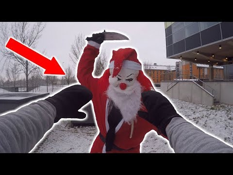 KILLER SANTA VS PARKOUR POV