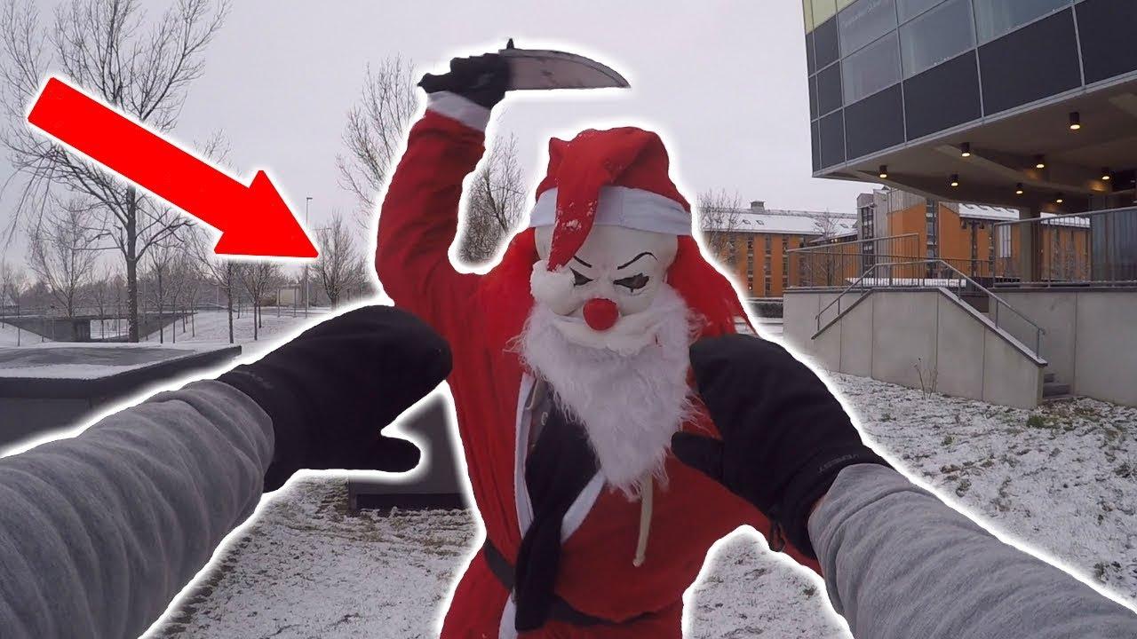Killer Santa Vs Parkour Pov Youtube